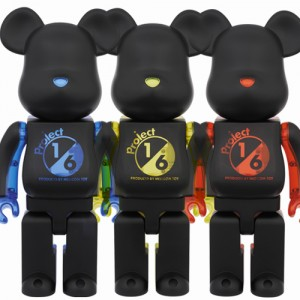 100% Be@rbrick Project 1/6 – 3 Colors as set (2013)