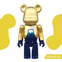 100 bearbrick Fuji Sunrise (2015)