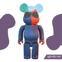400 Bearbrick Andy Warhol (2015)