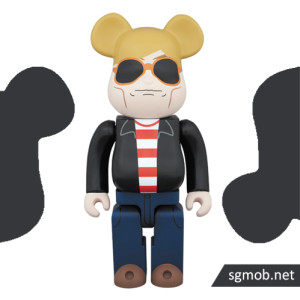 1000% Bearbrick Andy Warhol 60's Style ver (2015)