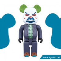 400 Bearbrick The Joker Bank Robber ver (2016)