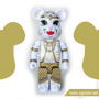 100% Exclusive Bearbrick Hanuman (2016)