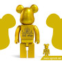 400% & 100% Exclusive Bearbrick Pomme chan (2016)