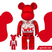 400 Bearbrick SJ50 My First Baby Red ver (2016)