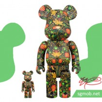 400% & 100% Bearbrick SSUR Floral-Themed (Mar 2017)