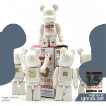 100% Bearbrick Basic Series 32 Completed set (2016)