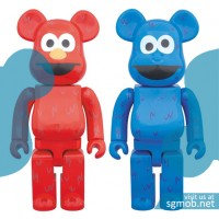100 Bearbrick Elmo & Cookie Monster (2016)