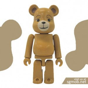 100% Bearbrick TED Series 30 (2015)