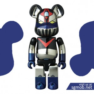 200% Bearbrick Great Mazinger Chogokin Ver (2015)