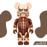 400 Bearbrick Attack on Titan 進撃の巨人 (2015)