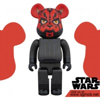 400 Bearbrick Darth Maul (2016)