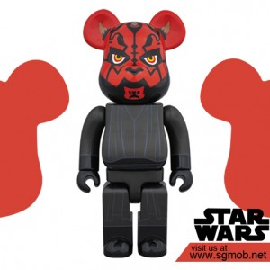 400% Bearbrick Darth Maul (2016)