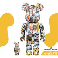 400 100 Bearbrick JEAN-MICHEL BASQUIAT (2017)
