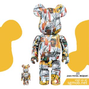 400% & 100% Bearbrick Jean-Michel Basquiat (2017)