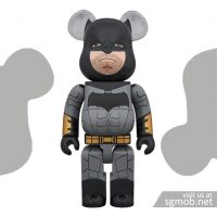 1000 Bearbrick Batman Justice League ver (July 2018)