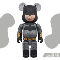 400 Bearbrick Batman Justice League ver (July 2018)