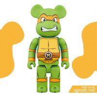 1000 Bearbrick Michelangelo (July 2018)
