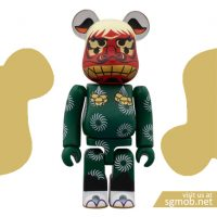 100 Bearbrick Shshima Lion Dance (2012)