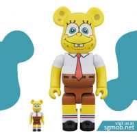 400 100 Bearbrick Spongebob (Oct 2018)