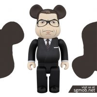 400 Bearbrick Harry Galahad Hart (Oct 2018)