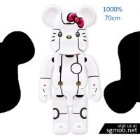 1000 Bearbrick Robot Hello Kitty (2018)
