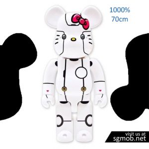 1000% Bearbrick Robot Hello Kitty (2018)
