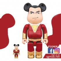 (PO) 400% & 100% Bearbrick Shazam (Oct 2019)