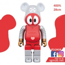 (PO) 400% Bearbrick Robocon (Oct 2019)