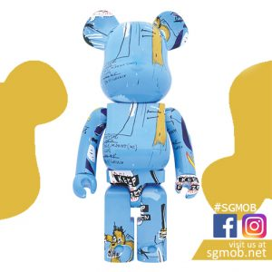 1000% Bearbrick JEAN-MICHEL BASQUIAT #4 (Dec 2019)