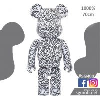1000 Bearbrick KEITH HARING #4 (Dec 2019)