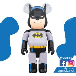 (PO) 1000% Bearbrick Batman Animated ver (Dec 2019)