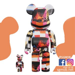 400% & 100% Bearbrick Andy Warhol The Last Supper ver (Feb 2020)