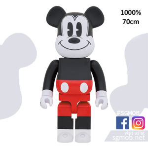 1000% Bearbrick Mickey Mouse R&W (Dec 2020)