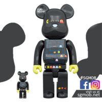 400 100 Bearbrick Pac-Man (Jan 2021)