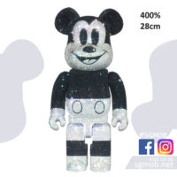 400 Bearbrick CRYSTAL DECORATE MICKEY MOUSE (Jan 2021)